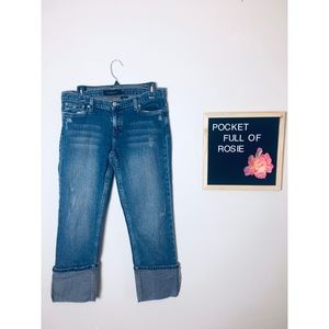 Calvin Klein Jeans cropped jeans
